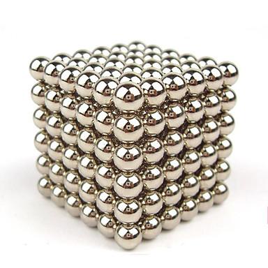 Mágneses játékok Építőkockák mágneses Balls 216 Darabok 4mm Játékok Mágnes Földgömb Ajándék