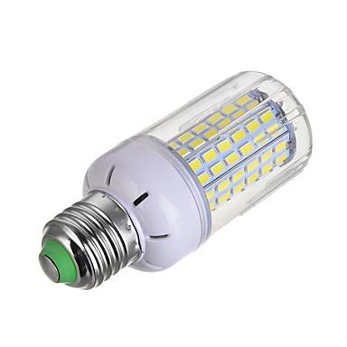 E26/E27 LED Λάμπες Καλαμπόκι T 108 LEDs Ψυχρό Λευκό 1200lm 6000-6500K