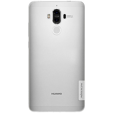 Για Εξαιρετικά λεπτή Διαφανής tok Πίσω Κάλυμμα tok Μονόχρωμη Μαλακή TPU για Huawei Huawei Honor 6X Huawei Mate 9 Huawei Mate 9 Pro
