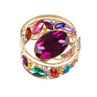 Damskie Broszki Cyrkonia Kamień szlachetny sztuczna Diament Stop Modny Tęczowy Biżuteria Codzienny