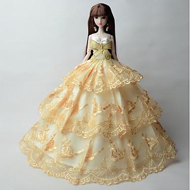 Princess Sukienki Dla Lalka Barbie Sukienki Dla Dziewczyny Lalka Zabawka
