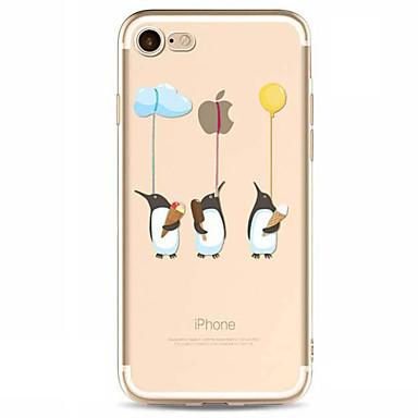 Pouzdro Uyumluluk Apple iPhone X iPhone 8 Plus iPhone 7 iPhone 6 iPhone 5 Kılıf Temalı Arka Kılıf Oynanan Apple Logosu Yumuşak TPU için