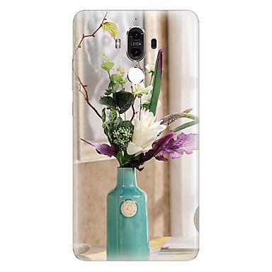 إلى نموذج غطاء غطاء خلفي غطاء زهور ناعم TPU إلى Huawei Huawei Mate 9 Huawei Mate 8
