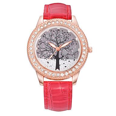 للرجال ساعة رياضية ساعة فستان ساعات فاشن ساعة المعصم ساعةألماسيمهئيأ كوارتز جلد طبيعي فرقة سحر عادية متعدد الألوان