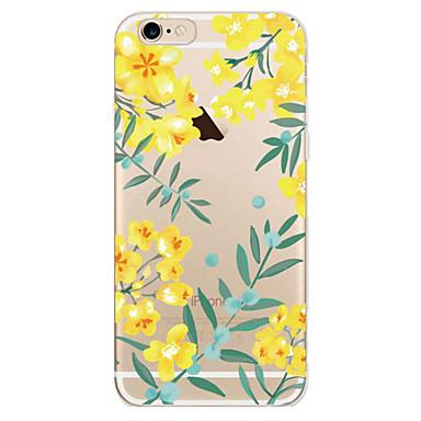 Για Θήκη iPhone 7 Θήκη iPhone 7 Plus Θήκη iPhone 6 Θήκες Καλύμματα Εξαιρετικά λεπτή Με σχέδια Πίσω Κάλυμμα tok Λουλούδι Μαλακή TPU για
