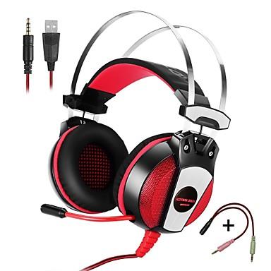 KOTION HER GS500 Kulaklıklar (Kafa Bantlı)ForCep Telefonu BilgisayarWithMikrofon ile Sesle Kontrol Oyunlar Gürültüyü Kesen