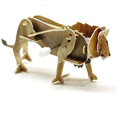 Zabawki 3D Puzzle Zabawki Dinozaur Lew Zwierzę 3D Animals 1 Sztuk