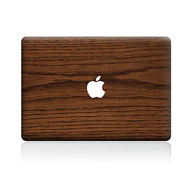1 szt. Naklejka na obudowę na Odporne na zadrapania Tekstura drewna Wzorki PVC MacBook Pro 15'' with Retina MacBook Pro 15'' MacBook Pro