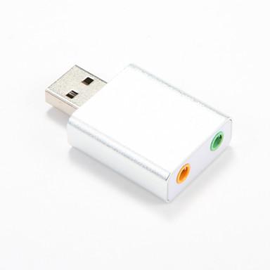 USB2.0 7.1-kanavainen Xear 3d ulkoinen USB äänikortti äänikortti windows XP10 7 8linux vista Mac OS