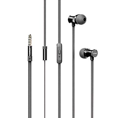 joway hp28 في الأذن واجهة 3.5mm سماعة مع سيطرة سماعة سلك النائية وهيئة التصنيع العسكري للهواتف الذكية / مشغل الموسيقى