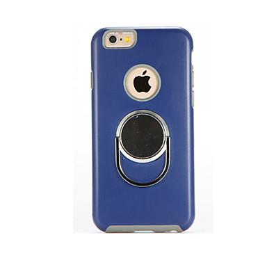 Pentru Cu Stand Maska Carcasă Spate Maska Culoare solida Greu PC pentru Apple iPhone 7 Plus iPhone 7 iPhone 6s Plus/6 Plus iPhone 6s/6