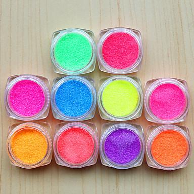 10pcs Sanat Dekorasyon Nail Rhinestone inciler Makyaj Kozmetik Sanat Tasarım Nail
