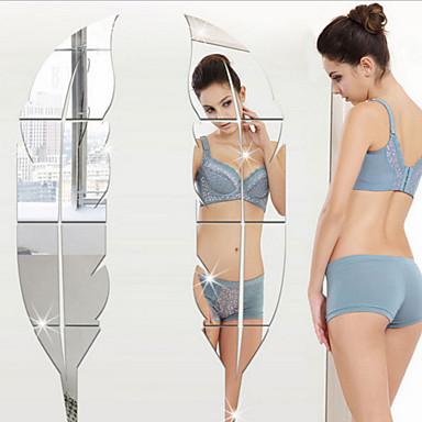 Ρομάντζο Αναψυχή Αυτοκολλητα ΤΟΙΧΟΥ 3D Αυτοκόλλητα Τοίχου Αυτοκόλλητα Τοίχου Καθρέφτης Διακοσμητικά αυτοκόλλητα τοίχου Αυτοκόλλητα Γάμου,