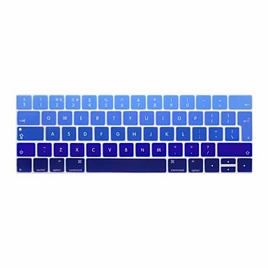 xskn® eurooppalainen englanti kaltevuus silikoninäppäimistö ihon ja touchbar suojelija 2016 uusin MacBook Pro 13,3 / 15,4 Touch bar