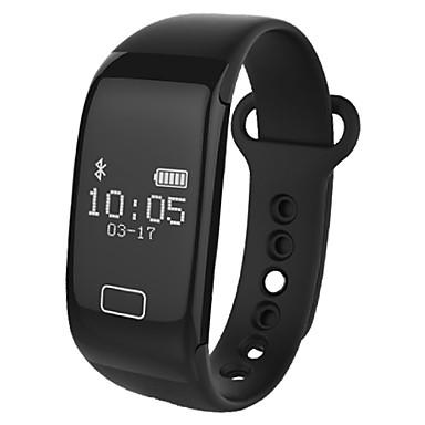 سوار الذكية YYK18S for iOS / Android / iPhone شاشة لمس / رصد معدل ضربات القلب / رمادي داكن متتبع النشاط / متتبع النوم / أجد هاتفي