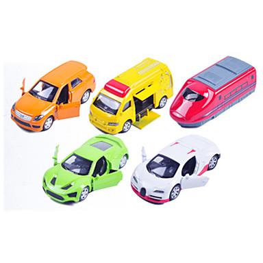 Oyuncak Arabalar araç Playsets Yarış Arabası Polis Arabası Oyuncaklar Araba Metal Alaşımlı Plastik Metal Klasik & Zamansız Şık & Modern 1