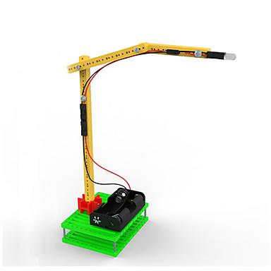 Oświetlenie LED wyświetlacz modelu Model Bina Kitleri Zabawki Wózek widłowy Zabawne DIY Plastikowy Sztuk