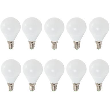 10pcs 7W 680 lm E14 E26/E27 Żarówki LED kulki G45 6 Diody lED SMD 2835 Dekoracyjna Ciepła biel Zimna biel 3000/6500K AC 220-240V