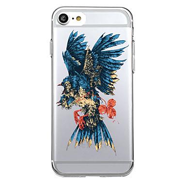 Για Θήκες Καλύμματα Εξαιρετικά λεπτή Διαφανής Πίσω Κάλυμμα tok Ζώο Μαλακή TPU για Apple iPhone 7 Plus iPhone 7 iPhone 6s Plus iPhone 6