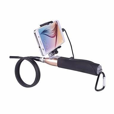 hd 1m mână sârmă tare aparat de fotografiat endoscopul Android cu lentile 7mm USB 6led tub de șarpe impermeabil borescope țeavă