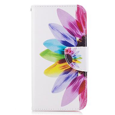غطاء من أجل Samsung Galaxy A5(2017) A3(2017) حامل البطاقات محفظة مع حامل قلب غطاء كامل للجسم زهور قاسي جلد PU إلى A3 (2017) A5 (2017)