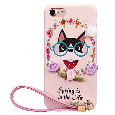 Varten DIY Etui Takakuori Etui Koira Pehmeä TPU varten Apple iPhone 7 Plus iPhone 7 iPhone 6s Plus iPhone 6 Plus iPhone 6s iPhone 6