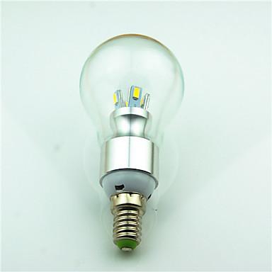 1szt 3.5W 350 lm E14 Żarówki LED kulki 8 Diody lED SMD 5730 Dekoracyjna Ciepła biel AC220 AC 85-265V