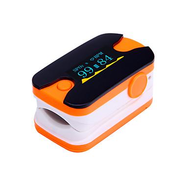digital, vârful degetului puls oximetru display OLED monitor de ritm cardiac albastru și portocaliu