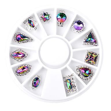 1SET Unghiul de bijuterii Glitters Metalic Modă Calitate superioară Zilnic