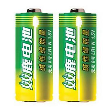 Shuanglu 8 baterii alkalicznych 1.5V do toczenia poprzez pióra elektronicznego 2 opakowania