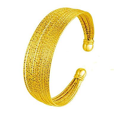 Γυναικεία Χειροπέδες Βραχιόλια Φύση Μοντέρνα Πεπαλαιωμένο Χαλκός Επιχρυσωμένο 24K Plated Gold Μπάλα Κοσμήματα ΓιαΓάμου Πάρτι Ειδική