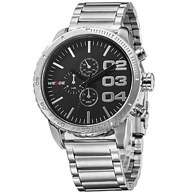Męskie Sportowy Do sukni/garnituru Szkieletowy Modny Zegarek na nadgarstek zegarek mechaniczny Kwarcowy Skóra naturalna Pasmo Z Wisorkami