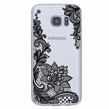 Недорогие Чехлы и кейсы для Galaxy S6 Edge-Кейс для Назначение SSamsung Galaxy S7 edge / S7 / S6 edge plus Ультратонкий / С узором Кейс на заднюю панель Геометрический рисунок Мягкий ТПУ