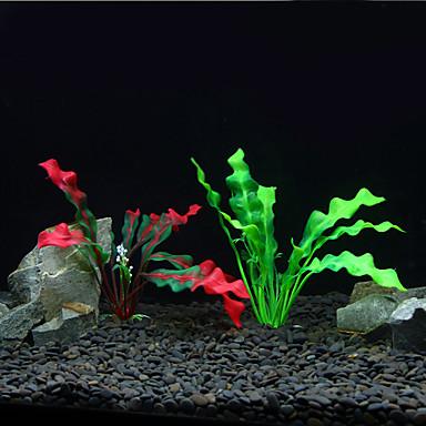 Akvaario Sisustus Vesikasvi Keinotekoinen Muovi