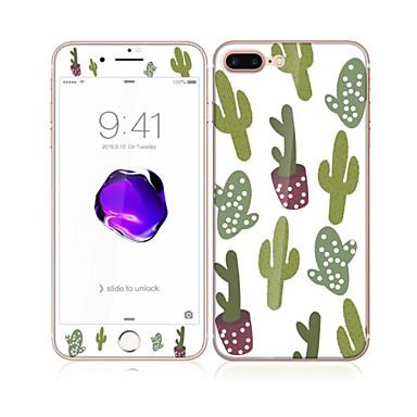 Ekran Koruyucu için Apple iPhone 7 Temperli Cam 1 parça Ön ve Arka Koruyucu Tema