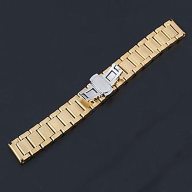 ανδρών / συγκροτήματα women'swatch μέταλλο 20 χιλιοστά αξεσουάρ ρολόι