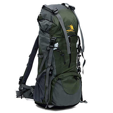 65L L sırt çantası Kamp & Yürüyüş Su Geçirmez Giyilebilir Naylon
