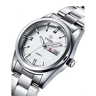 Pentru femei Ceas La Modă / Ceas Elegant  / Ceas de Mână Calendar / Iluminat Aliaj Bandă Charm Alb