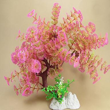 Akvaryum Dekorasyonu Su Bitkisi Zehirsiz ve Tatsız Plastik