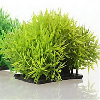 Decorațiune pentru Acvariu Plantă Apă Ne-Toxic & Fără Gust Plastic