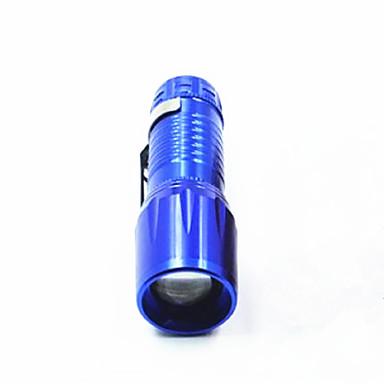 LED taskulamput LED 150 lm 3 Tila LED Zoomable Säädettävä fokus Vedenkestävä Kompakti koko Erityiskevyet Telttailu/Retkely/Luolailu