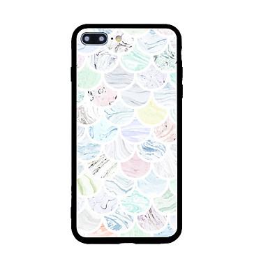 Etui Käyttötarkoitus Apple Kuvio Takakuori Geometrinen printti Kova Akryyli varten iPhone 7 Plus iPhone 7 iPhone 6s Plus iPhone 6s iPhone