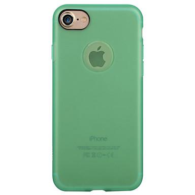 Varten Himmeä Etui Takakuori Etui Yksivärinen Pehmeä TPU varten Apple iPhone 7 Plus iPhone 7