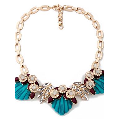 Damskie Naszyjniki z wisiorkami Biżuteria Biżuteria Kryształ górski Stop Modny Osobiste euroamerykańskiej Europejski Biżuteria NaImpreza