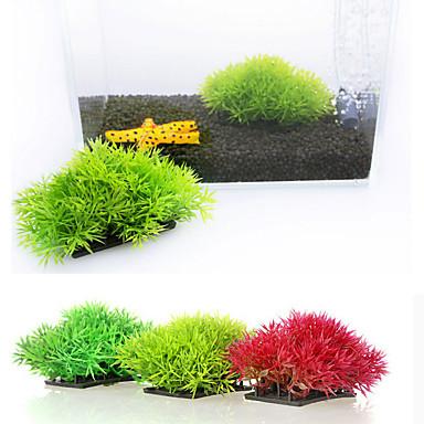 Dekoracja Aquarium Roślina wodna Sztuczne Plastikowy