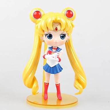 عمل أرقام أنيمي مستوحاة من Sailor Moon Sailor Moon PVC 15 CM ألعاب تركيب دمية لعبة