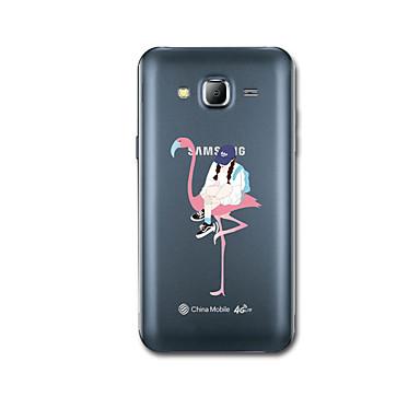 Kılıf Na Samsung Galaxy J7 (2016) J5 (2016) Ultra cienkie Wzór Etui na tył Seksowna dziewczyna Miękkie TPU na J7 (2016) J5 (2016)
