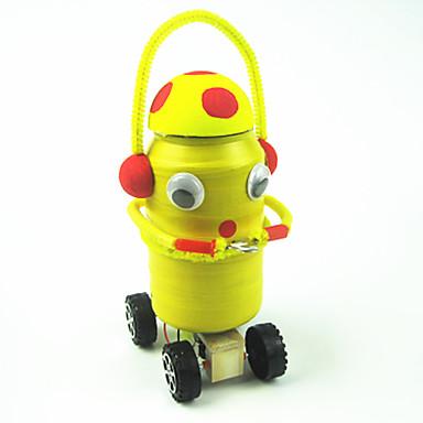 Robot Nauka i odkrycia Zabawki Maszyna Robot DIY Edukacja Drewniany Metal DZIECIĘCE 1 Sztuk
