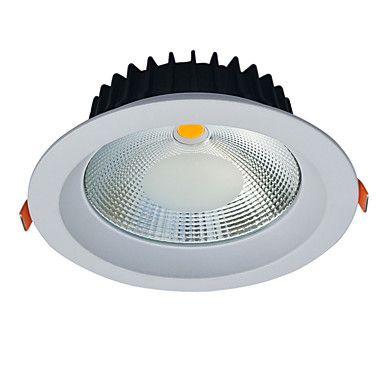 JIAWEN 20w tavan ışık yansıma önleyici girintili yukarıdan aydınlatma ac85-256v gömülü yol