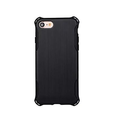 Için Şoka Dayanıklı Pouzdro Arka Kılıf Pouzdro Solid Renkli Sert PC için Apple iPhone 7 Plus iPhone 7 iPhone 6s Plus/6 Plus iPhone 6s/6